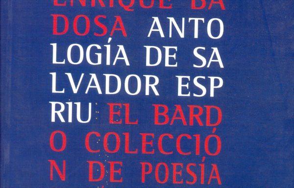 Antología de Salvador Espriu