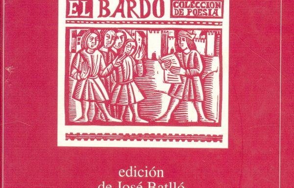 EL BARDO (1964-1974) Memoria y Antología